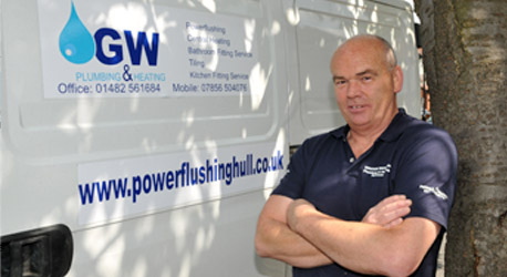 Graham From Power Flushing Goole